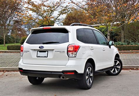 2017 subaru forester road 2017 subaru forester 2 5i touring road test review the