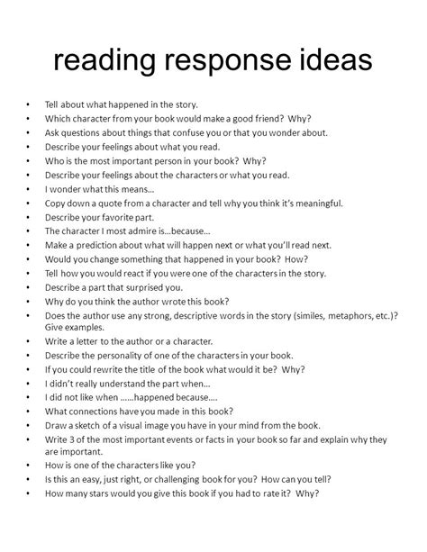 themes for reading response start let s a r i o t s ur hing eading ppt video online