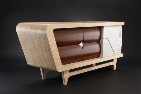 modern credenza retro style furniture versatile form