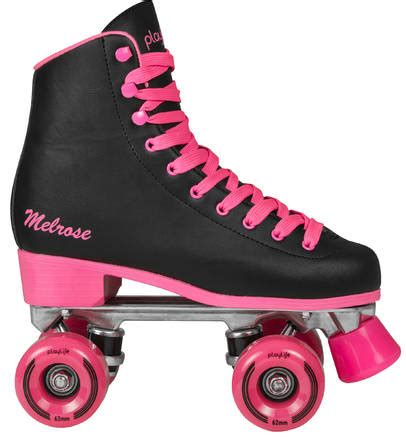 Play Roller Skates roller skates retro playlife black pink