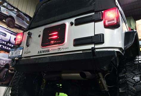 jk third brake light relocation jeep led brake light 4x4 and jeep stuff