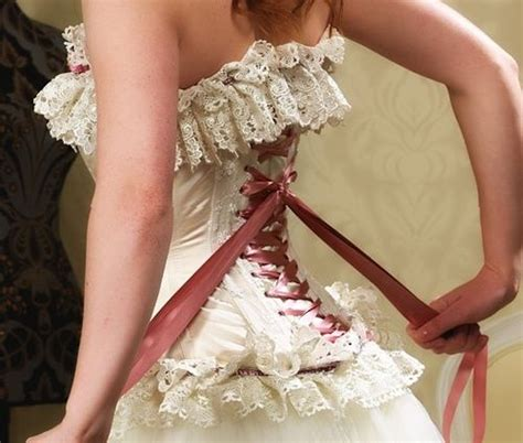 Hochzeitsschuhe Chagner by Vintage Corset Wedding Dresses Pictures Ideas Guide To