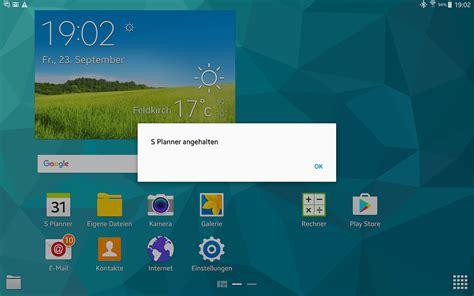 Samsung Tab S 10 5 Quot samsung galaxy tab s 10 5 wie ist der fehler quot s planner
