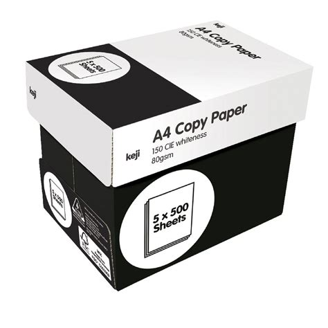 sticker printing paper officeworks keji 80gsm a4 white copy paper carton officeworks