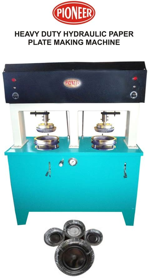 Paper Plates Machine - hydraulic paper plate forming machine