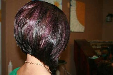angled bob colored hair short brown hair with highlights cool hairstyles