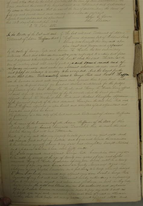 Richland County Ohio Marriage Records Henry R Hosler Lydia A Hoffman Marriage Family Genealogy 17 March 1839 Richland