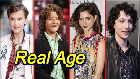 Or Age Rating 2018 Things Actors Real Age In 2018 Doovi