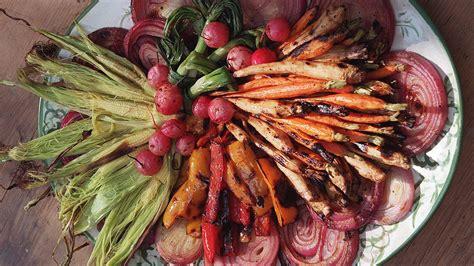 grilled root vegetables recipe grilled vegetables california cookbook