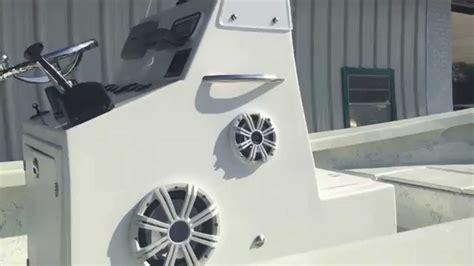 boat speakers installation custom marine boat audio install youtube