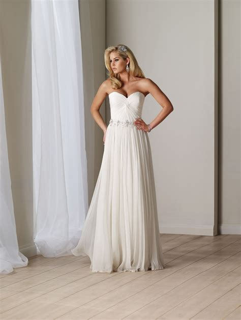 backless chiffon wedding dressescherry