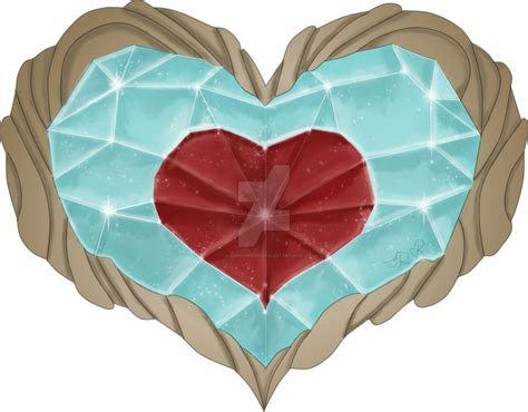 legend of zelda map heart containers zelda heart container by adream0fsin on deviantart