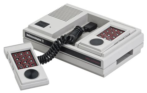 mattel console file intellivision ii console set png wikimedia commons