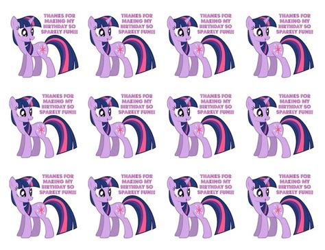 my little pony printable thank you cards 26 best my little pony theme party images on pinterest