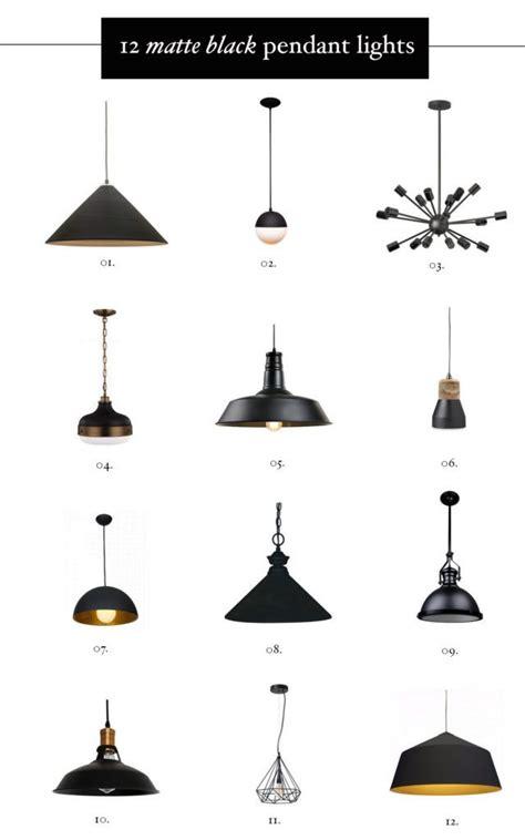 black kitchen pendant lights 25 best ideas about black pendant light on