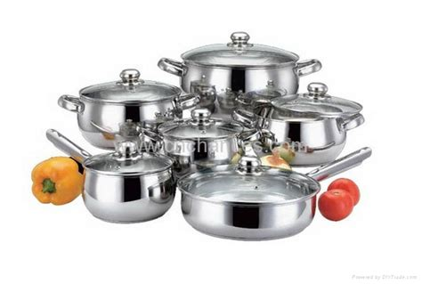 Panci Set Stainless Cookware 12pcs 12pcs stainless steel cookware set cygxbg12 chances china manufacturer products