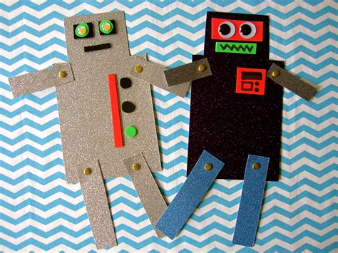 robot craft for bring a friend storytime sturdy for common things