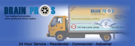 Sebastopol Plumbing by Drain Pros 707 538 5325 Drain Cleaning Services In