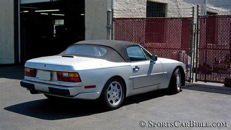 porsche 944 convertible quelques liens utiles