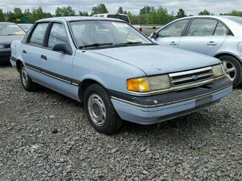 blue book value used cars 1990 ford tempo engine control auto auction ended on vin 2fapp36x5kb132212 1989 ford tempo gl in or portland north