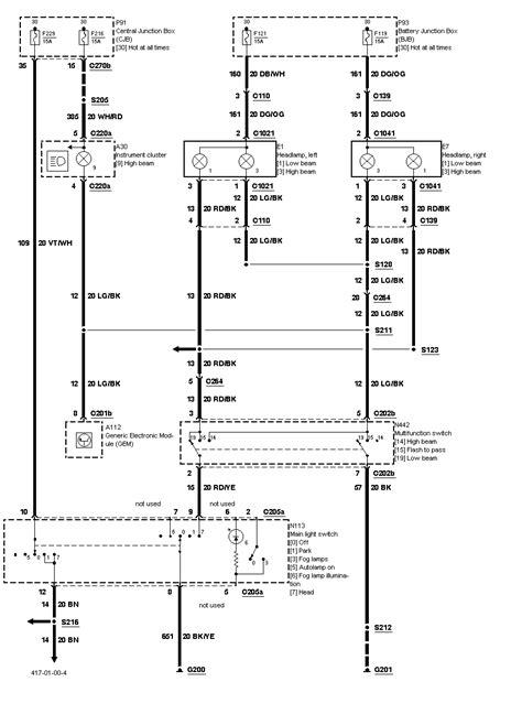 02 taurus wiring diagram 02 taurus headlight wiring diagram 2008 ford taurus headlight diagram truck junction box