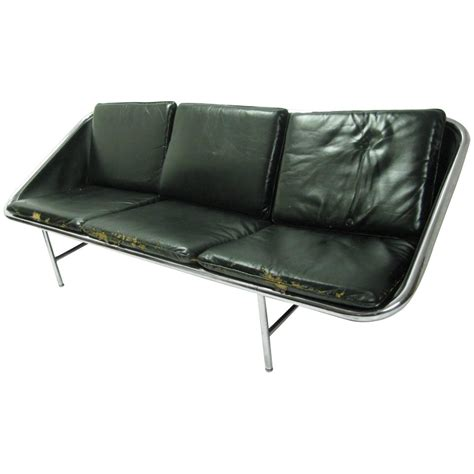 sling sofa george nelson three seat sling sofa for sale at 1stdibs
