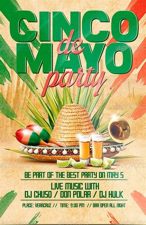 Ffflyer Flyer Template Cinco De Mayo Party Flyer Poster Template Cinco De Mayo Template