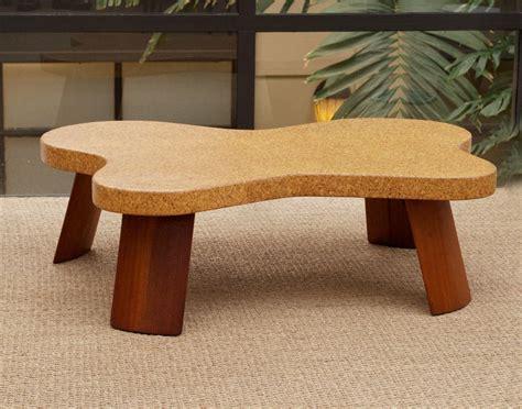 cork coffee table paul frankl cork top coffee table at 1stdibs