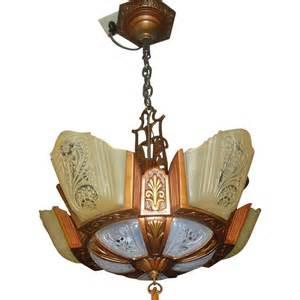 deco slip shade chandelier deco 5 light slip shade chandelier consolidated