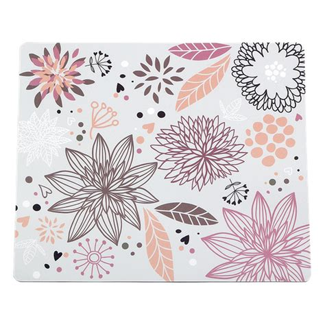 Tapis De Souris Design by Tapis De Souris Designer Quot Flower Field Quot Magasin En Ligne