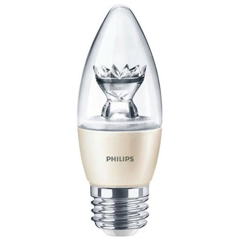 candele led philips philips 47479200 spark 6 watt es e27mm dimmable