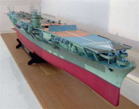 How To Make A Paper Aircraft Carrier - 071 127 cm zuikaku japanese aircraft carrier paper model