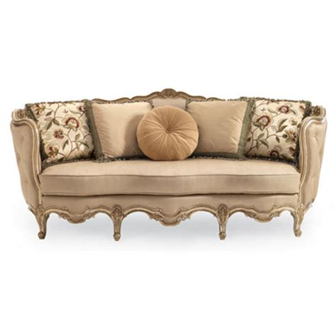 schnadig sofa compositions schnadig a840 082 a florence carved wood sofa