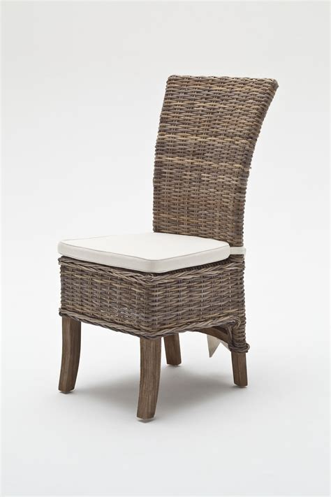 rattan wicker dining chairs rattan armless dining chair home furniture manufacturer