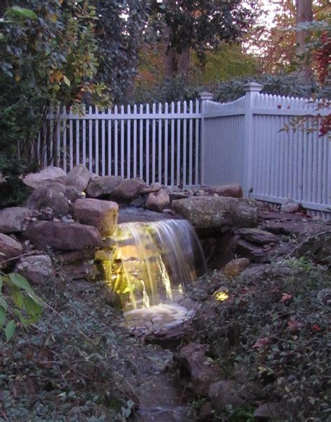 Why Adding Led Lighting To Your Pond Is A Must Maryland Waterfall Lights