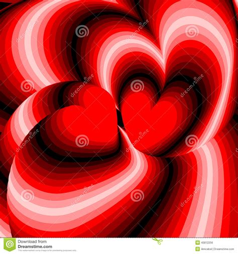 imagenes con movimiento que asustan corazones del dise 241 o que tuercen el fondo de la ilusi 243 n