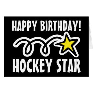 hockey birthday cards amp invitations zazzle co uk