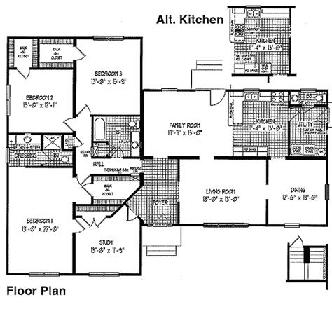 ranch modular home floor plans ranch modular home floor plans the charleston bsn homes