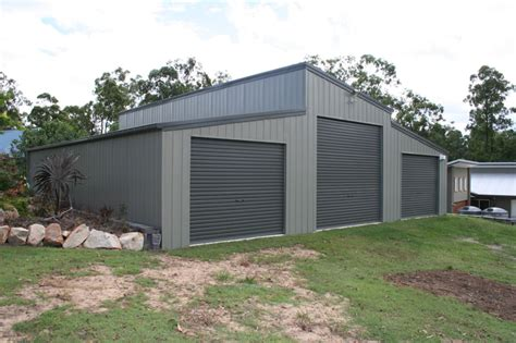 Garage With Shed Roof by Monopitch Skillion Roof Garage Fair Dinkum Sheds