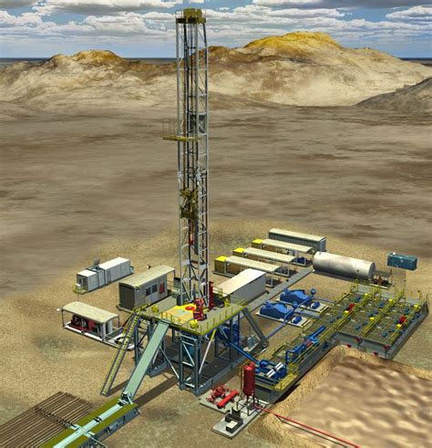 land rig layout pdf 3d oil gas land rig drilling graphics for honeywell