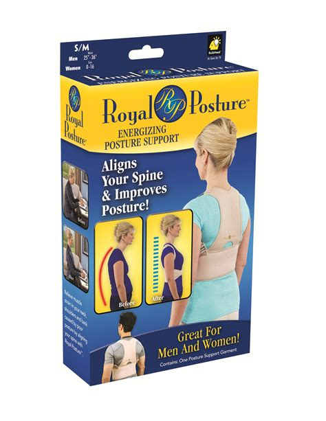 as seen on tv royal posture s m posture support
