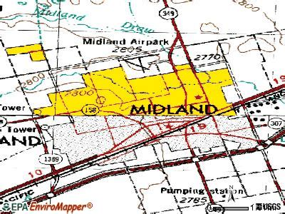 midland texas on map midland texas map