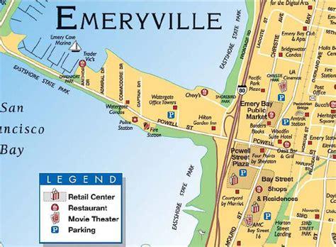 california map emeryville fiberglass jacket emeryville california