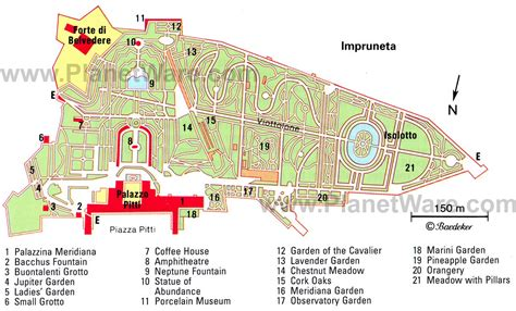 giardino di boboli mappa 12 top tourist attractions in florence planetware
