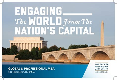 Gwu Global Mba by Gwsb Global Professional Mba Factbook By Gw School Of
