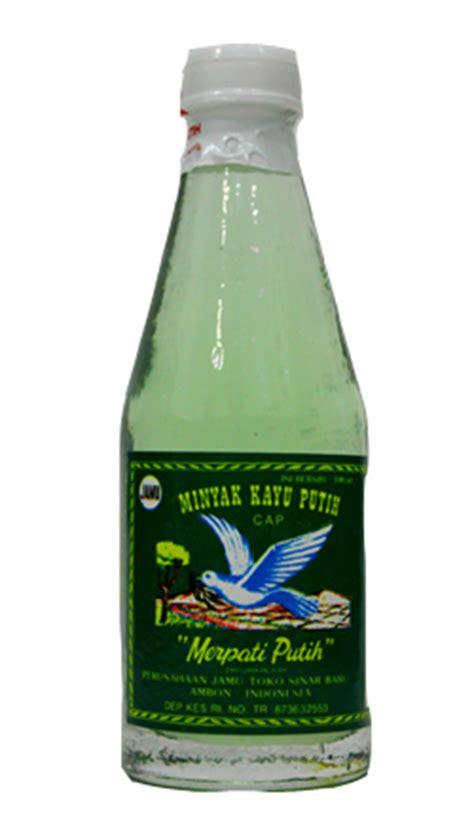 Minyak Kayu Putih Botol minyak kayu putih cap merpati putih 100ml dari ambon