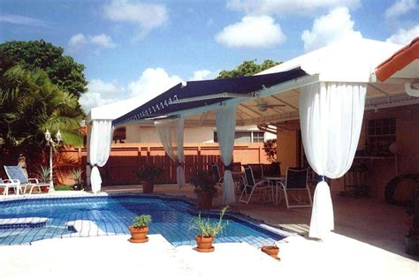 pool awnings canopies pool deck awnings canopies miami awning