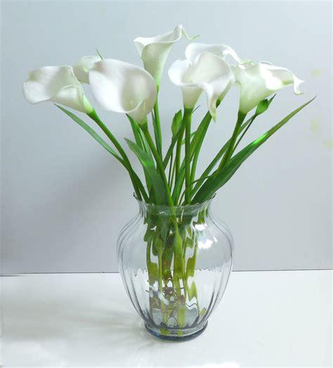artificial flowers 9 calla orchid grass wedding