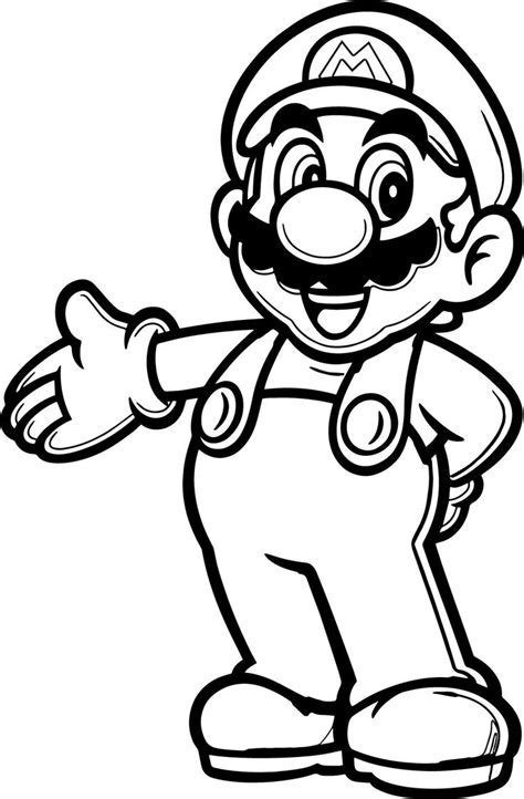 Mario 9 Coloring Pages by 20 Populer Coloring Pages Wecoloringpage