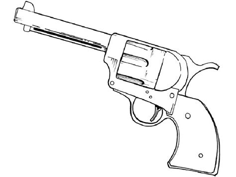 Coloring Page Gun by Gun Coloring Pages Bestofcoloring